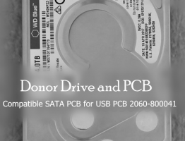 WD40NPZZ-82PDPT0 Donor Drive and Donor SATA PCB for 2060-800041 USB PCB
