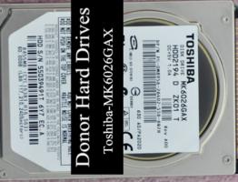 Toshiba IDE MK6026GAX 60GB Donor Drive