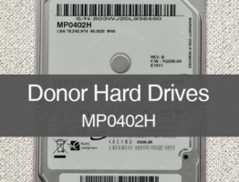 SAMSUNG MP0402H IDE Donor Drive