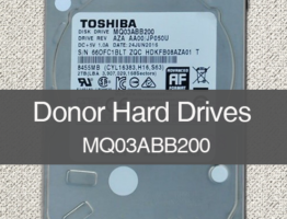 MQ03ABB200 2TB Donor Drive PCB G3918A