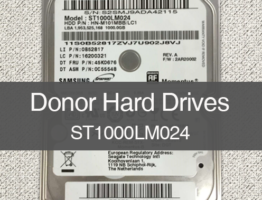 Samsung ST1000LM024 Donor Drive