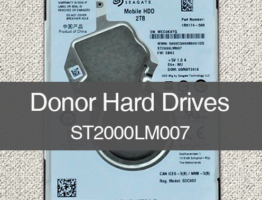 ST2000LM007 2TB Seagate LM Slim Donor Drive