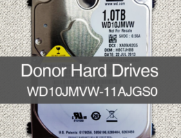 WD10JMVW-11AJGS0 2060-771961-001 Donor Drive