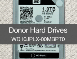 WD10JPLX-00MBPT0 Laptop Donor Hard Drive