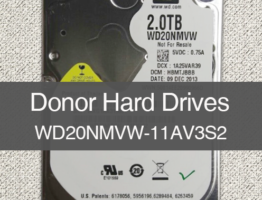 WD20NMVW-11AV3S2 2060-771961-001 Donor Drive