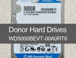 WD5000BEVT-00A0RT0 2060-771672-004 Donor Drive