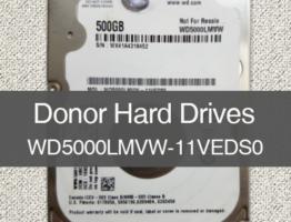 WD5000LMVW-11VEDS0 2060-771949-000 Donor Drive