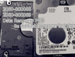 WD 2060-800066 2060-800069 Data Recovery PCB