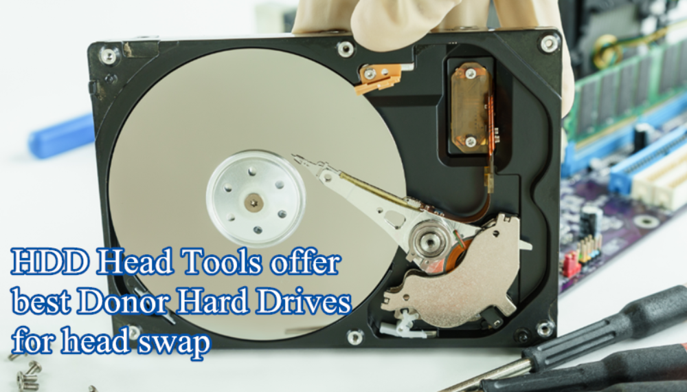 Why Data Recovery Engineers Buy Head Swap Donors from HDD Head Tools Factory